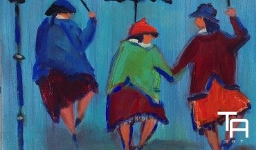 Tina Adlhoch - Dancing in the rain